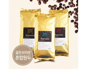 커피원두 골든브라운 혼합 10kg
